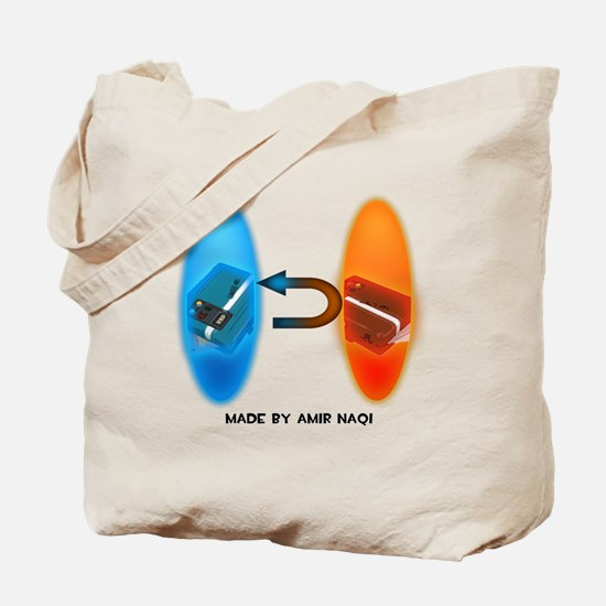 Portal Intel Steal Tote Bag