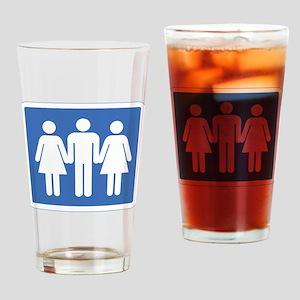 3way Drinking Glass