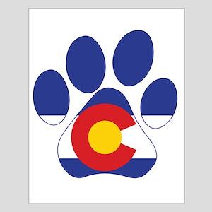 Colorado Paws Small Poster
