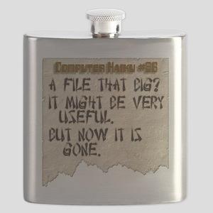 parchment haiku 86 flat Flask