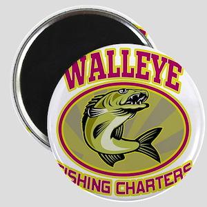 walleye fish fishing charters Magnet