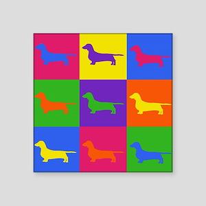 "Warhol Pookie Square Sticker 3"" x 3"""