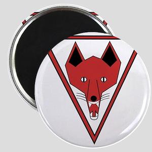 u-255_Grinning Fox Magnet