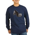 Horse Long Sleeve Dark T-Shirt