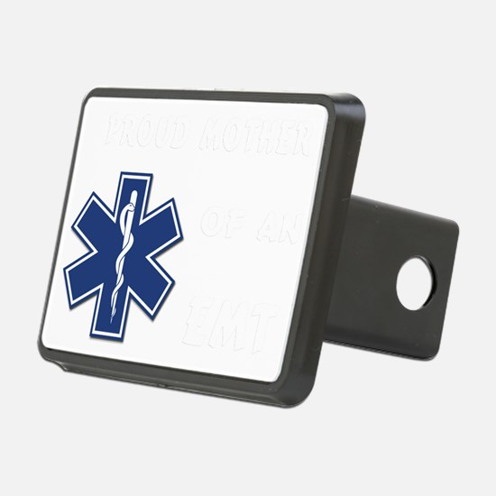 proud mother emt white Hitch Cover