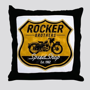 CafeBrothers Throw Pillow