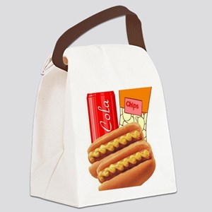 Lunch Combo Canvas Lunch Bag