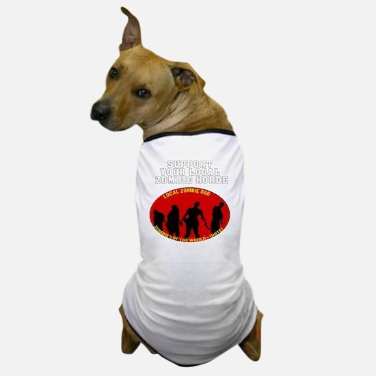 Zombie Horde dark Dog T-Shirt