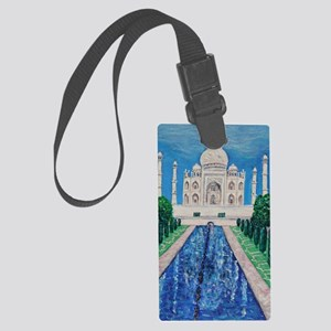 Taj Mahal (2) Large Luggage Tag