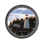Cap Gaspe Light Wall Clock