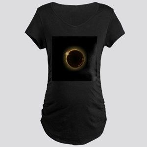 2017 total solar eclipse Maternity T-Shirt