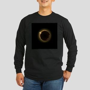 2017 total solar eclipse Long Sleeve T-Shirt
