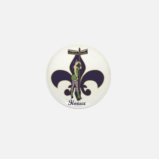 heaux-de-lis-LTT Mini Button