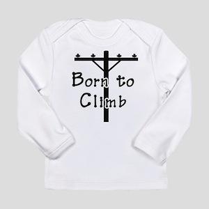 Born to climb Long Sleeve T-Shirt