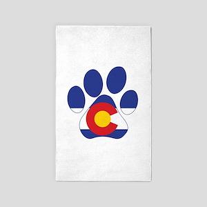 Colorado Paws Area Rug
