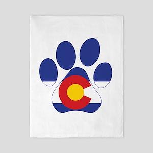 Colorado Paws Twin Duvet Cover