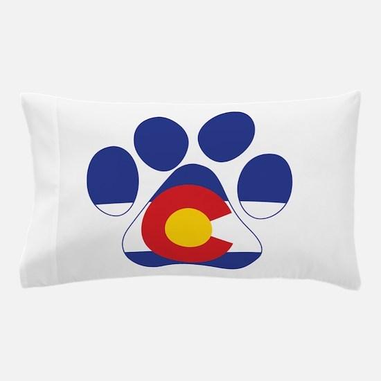 Colorado Paws Pillow Case