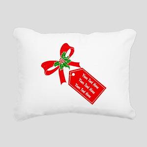 Personalize It Rectangular Canvas Pillow