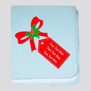 Personalize It baby blanket