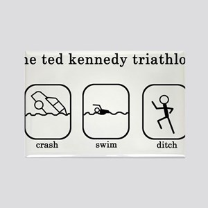 Ted Kennedy Triathlon Rectangle Magnet