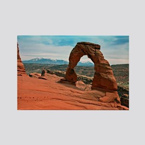 Delicate Arch in Moab, Utah Rectangle Magnet