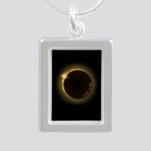 2017 total solar eclipse Necklaces