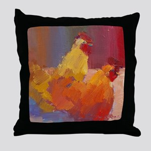gertrude and letty Throw Pillow
