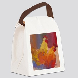 gertrude and letty Canvas Lunch Bag