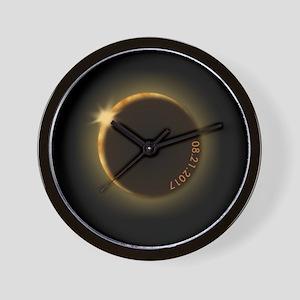 2017 total solar eclipse Wall Clock