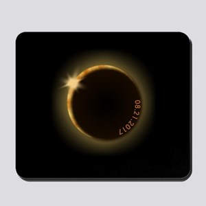 2017 total solar eclipse Mousepad