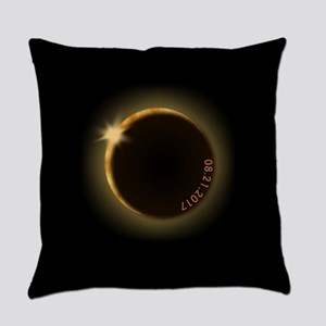 2017 total solar eclipse Everyday Pillow