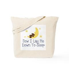 Now I Lay Me Down to Sleep Tote Bag
