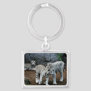 tiger2 Landscape Keychain