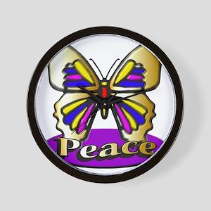peace12x12 Wall Clock