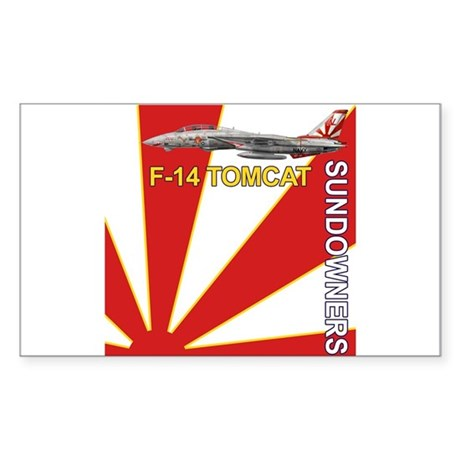 VF-111 Sundowners Rectangle Sticker