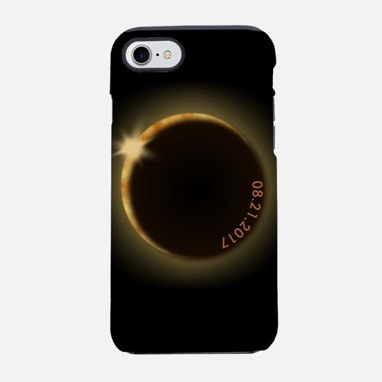 2017 total solar eclipse iPhone 7 Tough Case