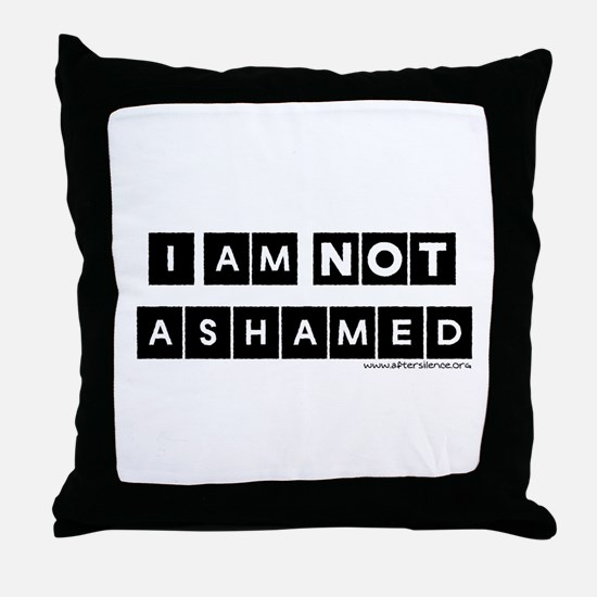 I'm Not Ashamed Throw Pillow
