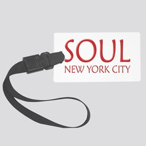 SOUL New York City Large Luggage Tag