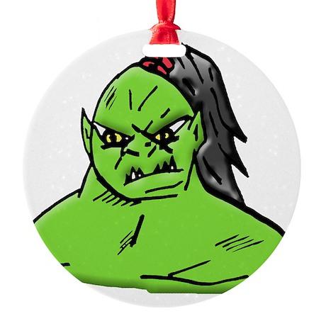 mutant Round Ornament