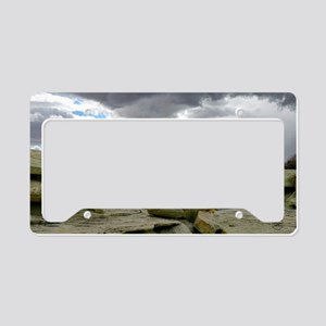 desert_storm_card License Plate Holder