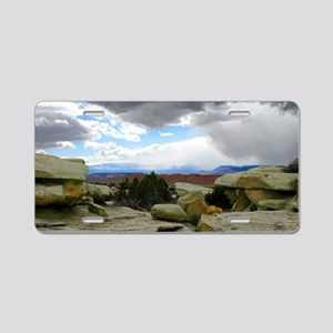 desert_storm_card Aluminum License Plate