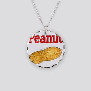 Peanut 1 Necklace Circle Charm