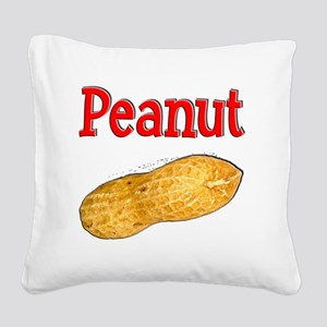Peanut 1 Square Canvas Pillow