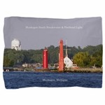 Muskegon Entrance Lights Pillow Sham