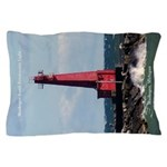 Muskegon South Breakwater Pillow Case