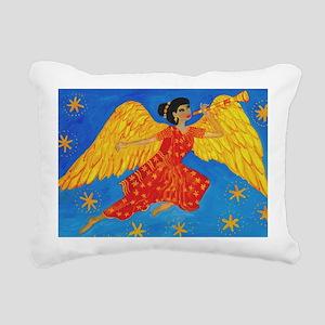 Indian angel Rectangular Canvas Pillow