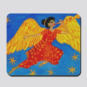 Indian angel Mousepad