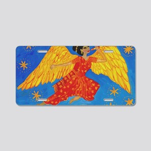 Indian angel Aluminum License Plate