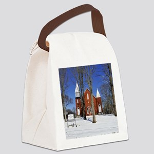 methodist_calendar Canvas Lunch Bag