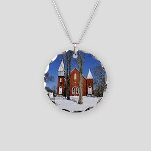 methodist_calendar Necklace Circle Charm